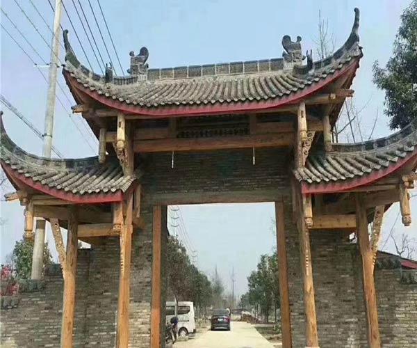 重庆防腐木牌坊