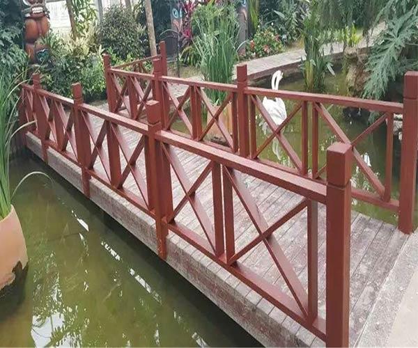 防腐木栏杆厂家定制