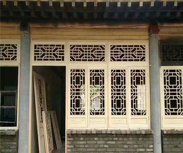 乐山防腐木窗