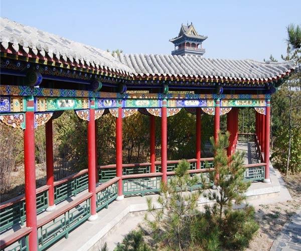 广元防腐木长廊