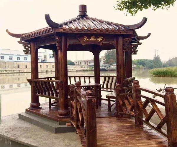 广元防腐木凉亭