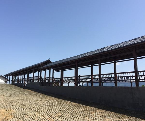 广元防腐木长廊定制