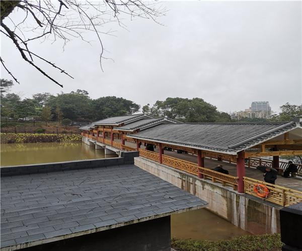 重庆工商大学风雨廊桥