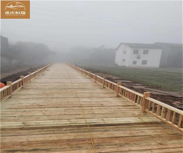 达州婚纱基地防腐木工程